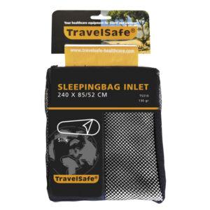 TravelSafe Sleepingbag Inlet Silk Mummy - Silke lagenpose - Hvid