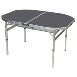Campingbord oval 120 x 80 cm