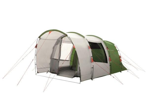 Easy Camp Palmdale 400 - Telt Med 2 Kabiner - 4 Personer - Grøn/Hvid
