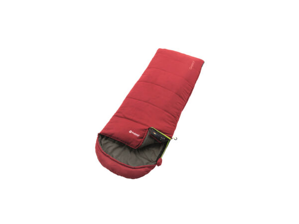 Outwell Campion Junior - Sovepose til børn - Rød