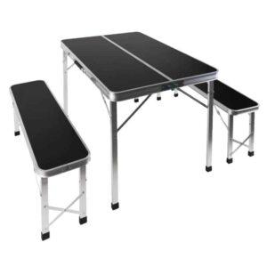 Picnicbord med 2 bænke