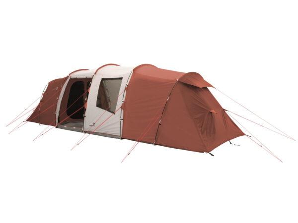 Easy Camp Huntsville Twin 800 - Telt Med 4 Kabiner - 8 Personer - Rød