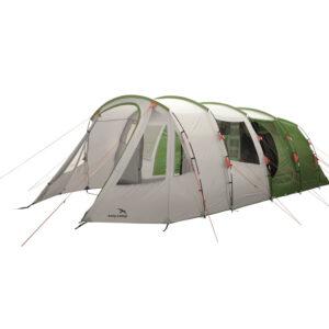 Easy Camp Palmdale 600 Lux - Telt Med 2 Kabiner - 6 Personer - Grøn/Hvid