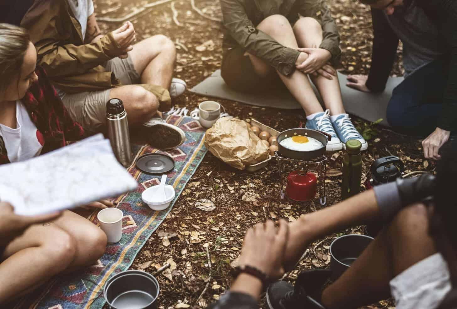 bedste camping køkken , gasblus , trangia