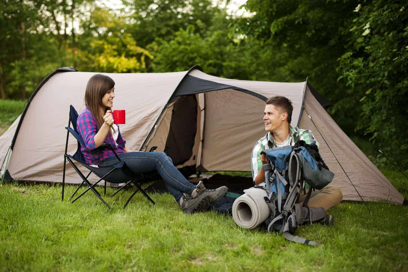 Pakkeliste til camping I telt