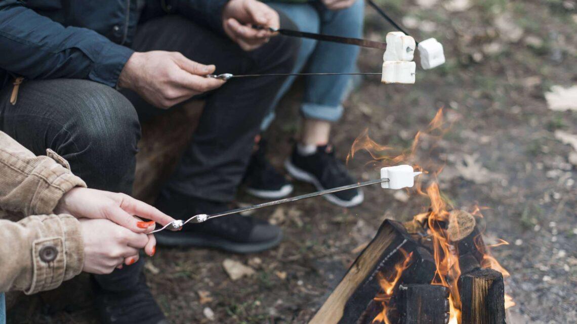 Skumfiduser over bål – Sådan gør du